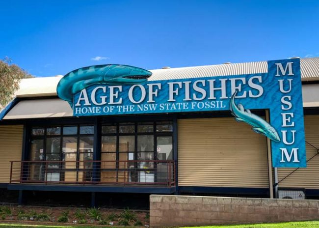 The Age of Fishes Museum at Canowindra