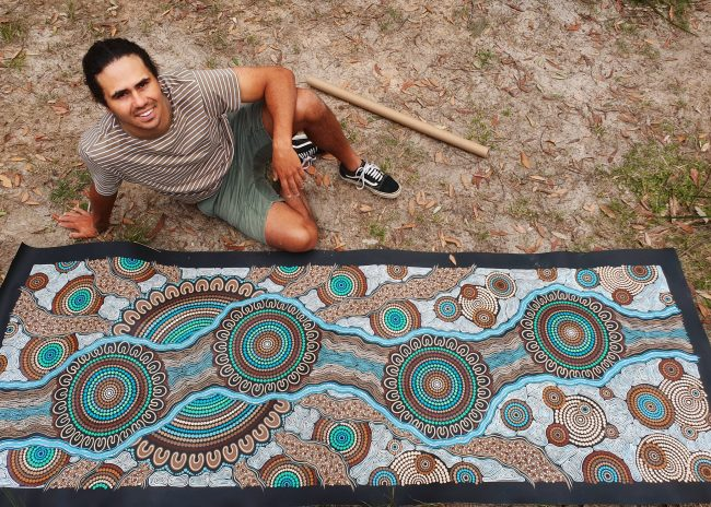 Burruguu 'time of creation' – Sharing knowledge through art