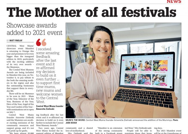 The Mother Of All Festivals – Central Western Daily