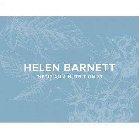 Helen Barnett Dietitian (APD) and Nutritionist