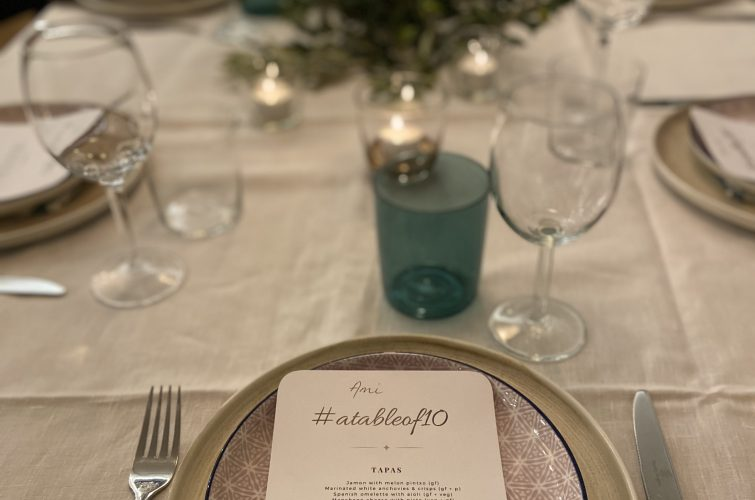 Spanish Dinner Party With A Table Of Ten, Orange NSW