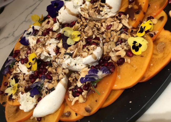 Recipe: Autumn Persimmon salad