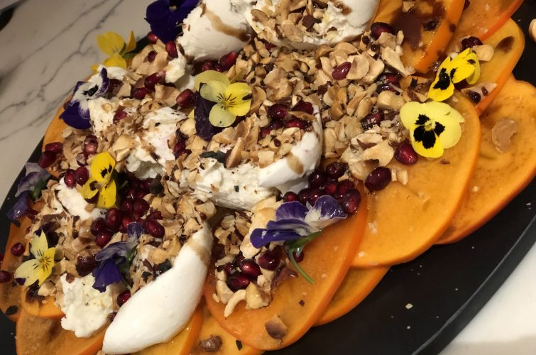 Recipe: Autumn Persimmon salad