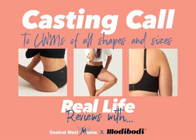 Modibodi Casting Call