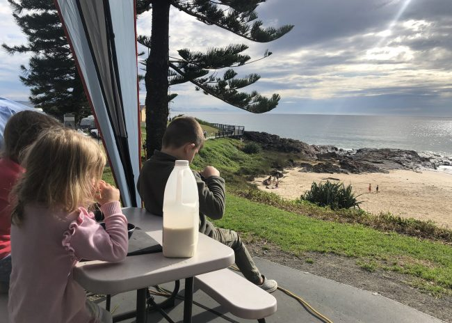 Easing into Family Camping