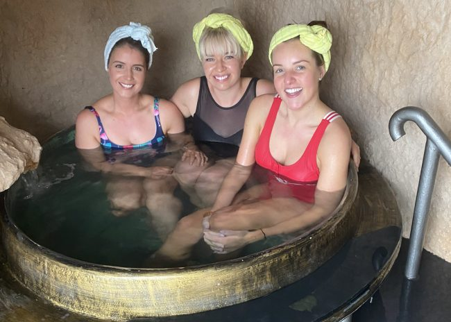 'Sparadise' – Day trip to the Japanese Bath House